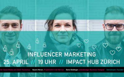 Referat über Influencer Marketing bei den Marketing Natives