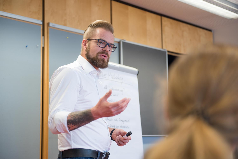 Boris Baldinger am HospitalityCamp17