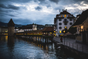 An evening in Lucerne