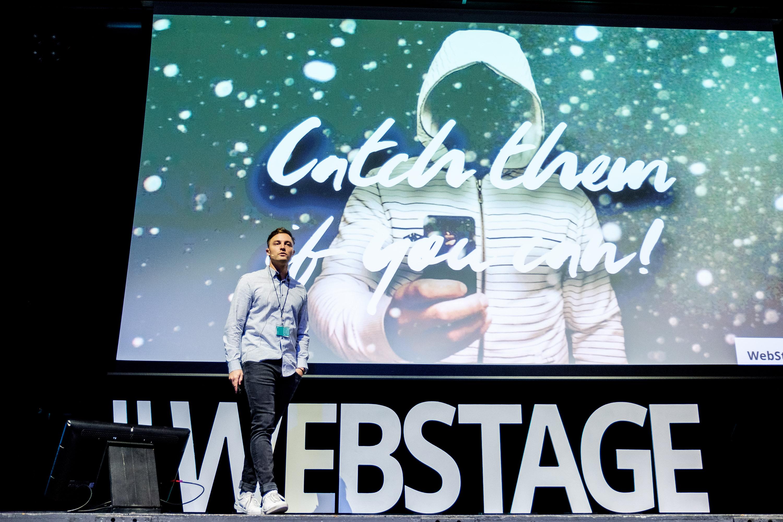 Fabio Emch von Jim&Jim an der WebstageMasters