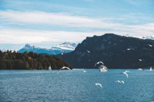 Mit dem Schiff nach Vitznau